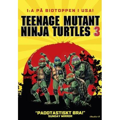 Teenage Mutant Ninja Turtles (DVD 1993)