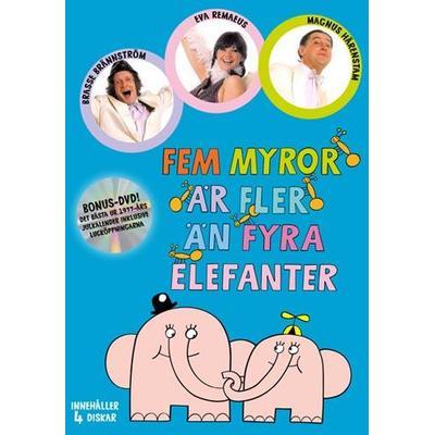 Fem myror är fler än fyra elefanter: Nyutgåva (DVD 1973-77)