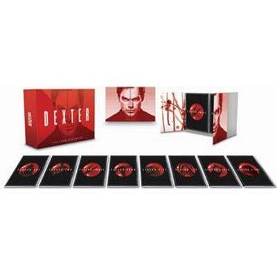 Dexter: Säsong 1-8 (DVD 2014)