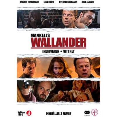 Wallander vol 9 - 2 filmer (DVD 2010)