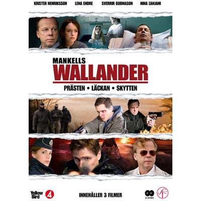 Wallander vol 7 - 3 filmer (DVD 2014)
