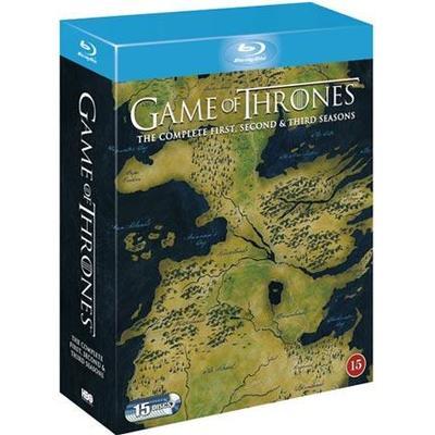 Game of thrones: Säsong 1-3 (Blu-Ray 2014)