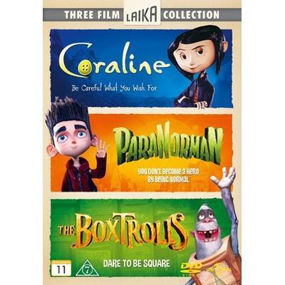 Boxtrolls + Paranorman + Coraline (DVD 2015)