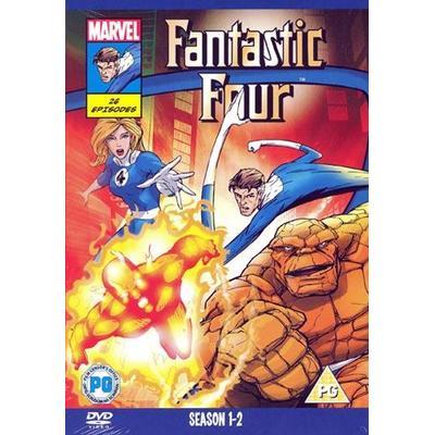Fantastic Four: Säsong 1+2 (DVD 2014)