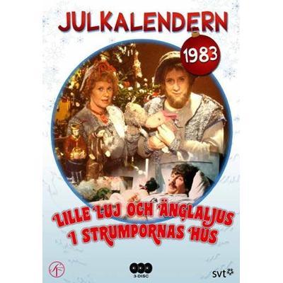 Lille Luj och änglaljus i strumpornas hus (DVD 1983)