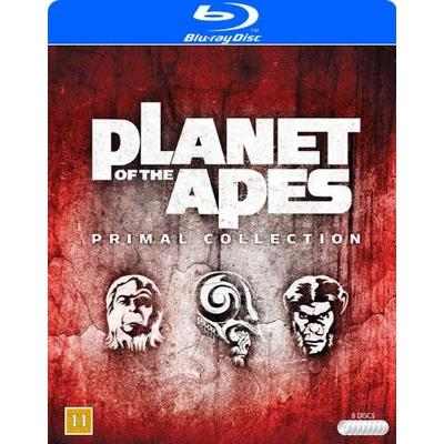 Planet of the apes: Primal collection (Blu-Ray 1968-2014)