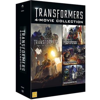 Transformers 1-4 collection (DVD 2014)