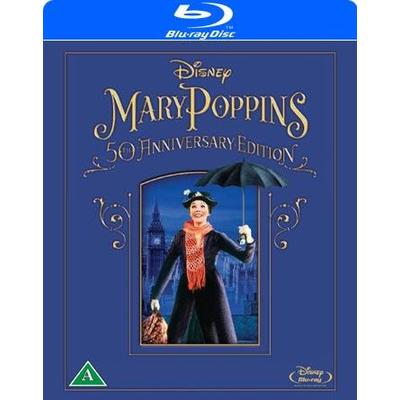 Mary Poppins: 50th anniversary edition (Blu-Ray 1964)