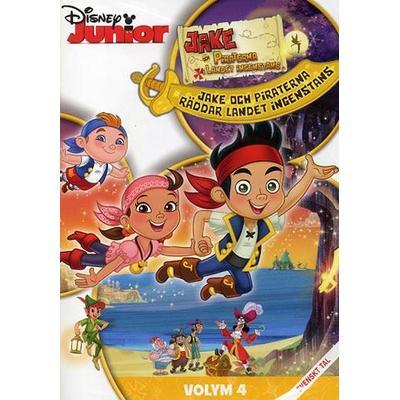 Jake och Piraterna: Vol 4 (DVD 2013)