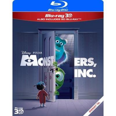 Monsters Inc. (3D Blu-Ray 2013)