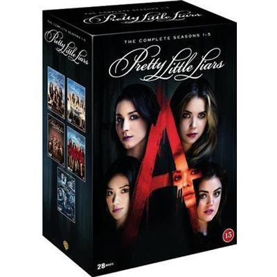 Pretty little liars: Säsong 1-5 (DVD 2015)