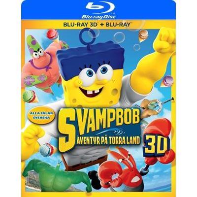 SvampBob Fyrkant: Äventyr på torra land (3D Blu-Ray 2015)