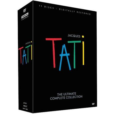 Jacques Tati - The Ultimate Complete Collection (DVD 2015)