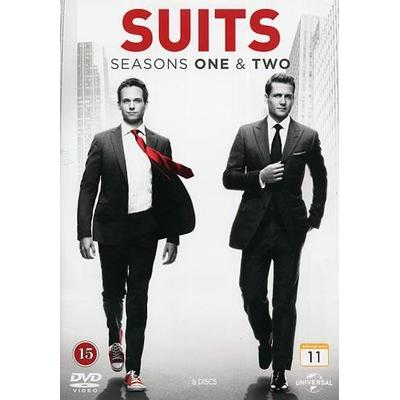 Suits: Säsong 1+2 (DVD 2013)