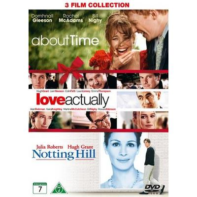 About time + Love actually + Notting Hill (DVD 2015)