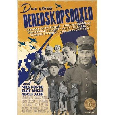 Den stora beredskapsboxen (DVD 1938-1943)