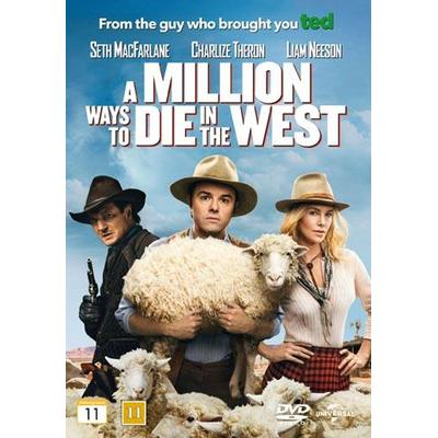 A million ways to die in the west (DVD 2014)