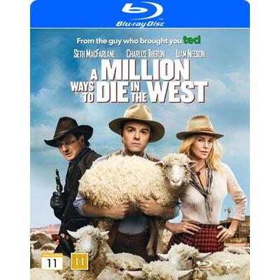 A million ways to die in the west (Blu-Ray 2014)
