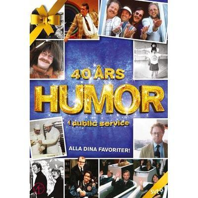 40 års humor i public service: Box - Nyutgåva (DVD 2009)