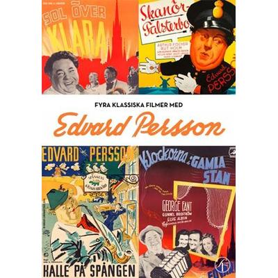 Edvard Persson Box - 4 filmer (DVD 1939-46)