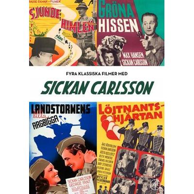 Sickan Carlsson Box - 4 filmer (DVD 1941-1955)
