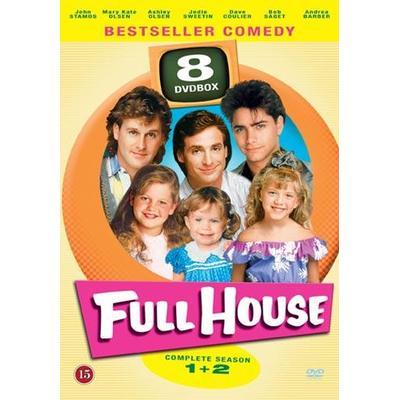 Huset fullt: Säsong 1+2 (DVD 2014)