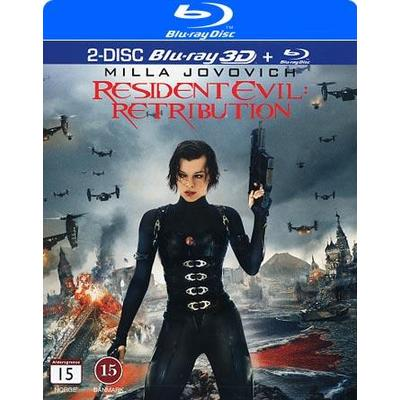 Resident Evil: Retribution (3D Blu-Ray 2012)