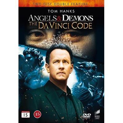 Änglar & demoner + Da Vinci-koden (DVD 2014)