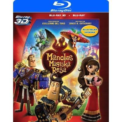 Manolos magiska resa (3D Blu-Ray 2015)
