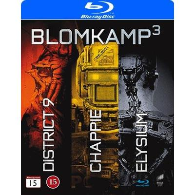 Blomkamp collection - 3 filmer (Blu-Ray 2015)