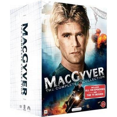 MacGyver: Complete series / 30th ann. ed. (DVD 1985-1992)