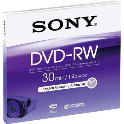 Sony DVD-RW 1.4GB 2x Jewelcase 5-Pack 8cm