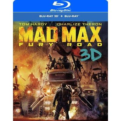 Mad Max - Fury Road 3D: Steelbook (3D Blu-Ray 2015)