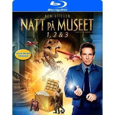 Natt på museet 1-3 Box (Blu-Ray 2015)