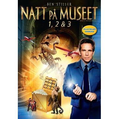 Natt på museet 1-3 Box (DVD 2015)