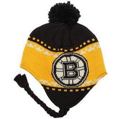 Reebok Boston Bruins Faceoff Tassle Knit Pom
