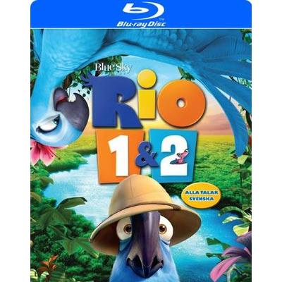 Rio 1+2 (Blu-Ray 2014)