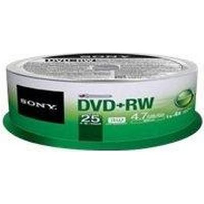 Sony DVD+RW 4.7GB 4x Spindle 10-Pack