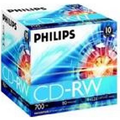 Philips CD-RW 700MB 12x Jewelcase 10-pack