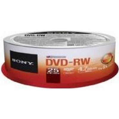 Sony DVD-RW 4.7GB 2x Spindle 25-Pack