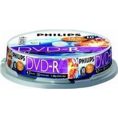Philips DVD-RW 4.7GB 16x Spindle 10-Pack