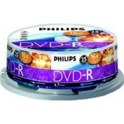 Philips DVD-RW 4.7GB 16x Spindle 25-Pack