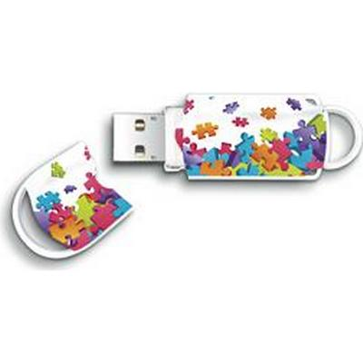 Integral Xpression Puzzle 8GB USB 2.0