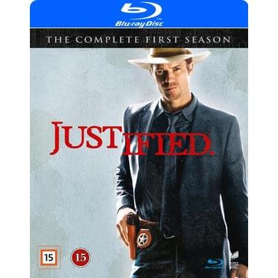 Justified: Säsong 1 (Blu-Ray 2015)
