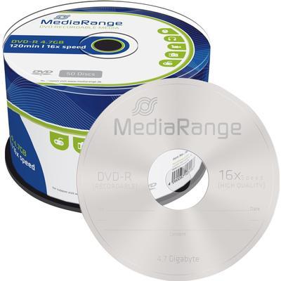 MediaRange DVD-R 4.7GB 16x Spindle 50-Pack