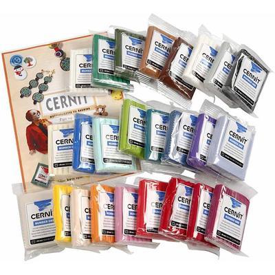 Cernit Mixed Colors 25 X 56g