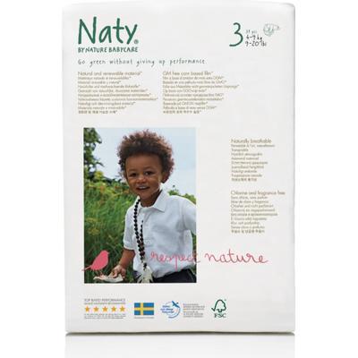Naty Eco Nappies Size 3 Midi