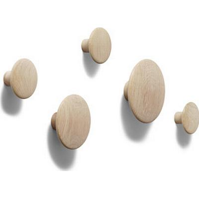 Muuto The Dots Knager 5 stk. Træ