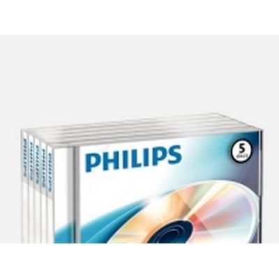 Philips DVD-RW 4.7GB 4x Jewelcase 5-Pack