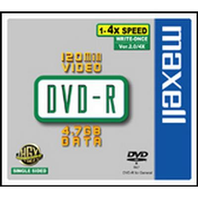 Maxell DVD+R 4.7GB 16x Jewelcase 5-Pack